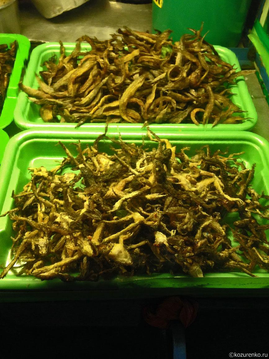 Жареные лягушки