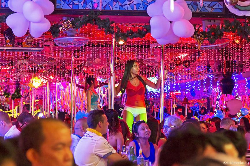 GO-GO бар с тайскими танцовщицами