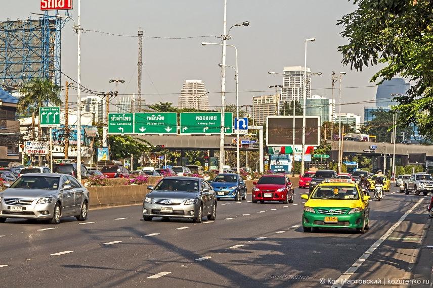 Трафик Бангкока