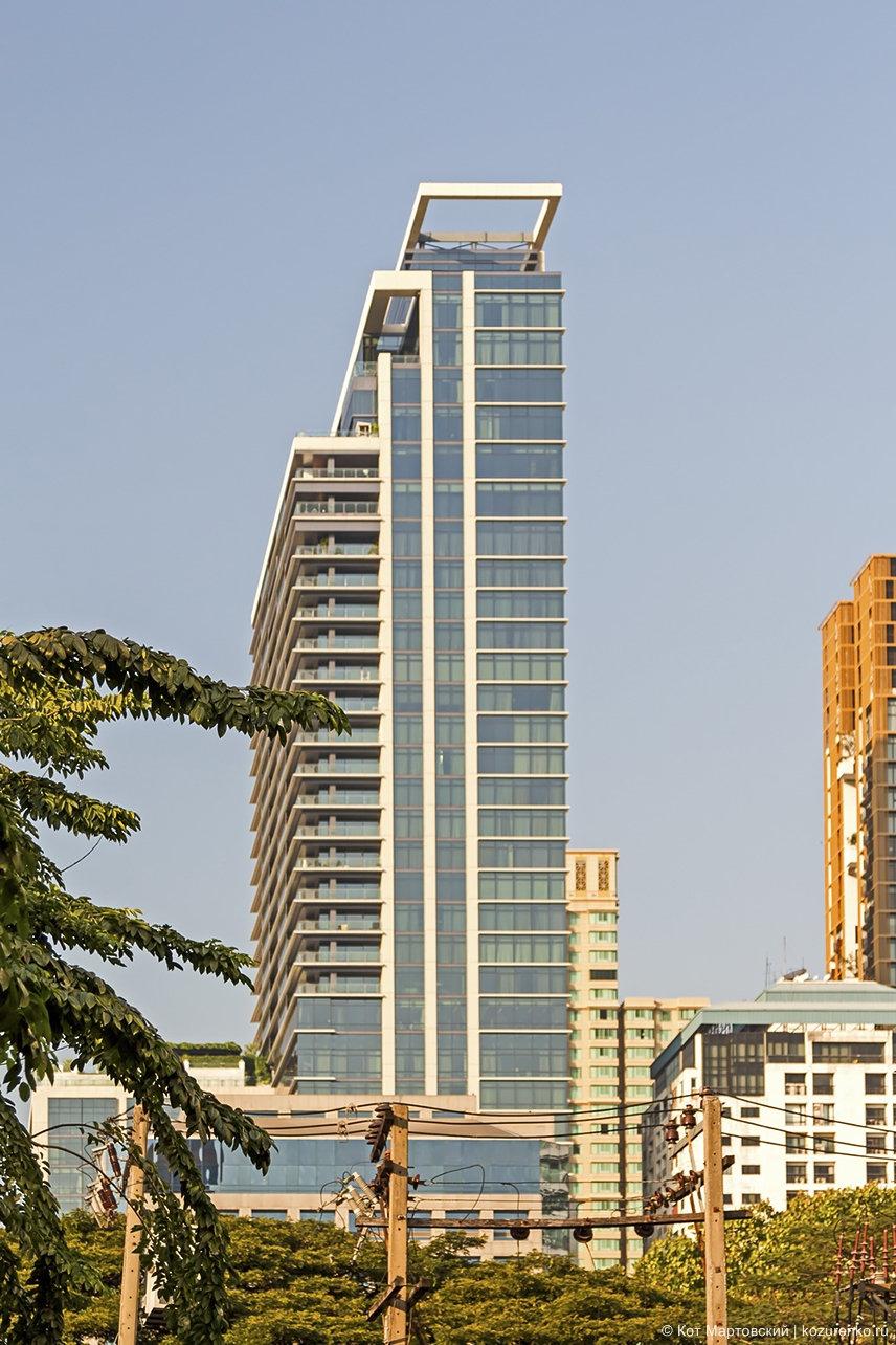 Высотка Бангкока - офисное здание или отель
