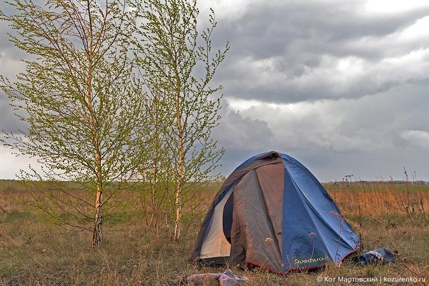 Витина палатка