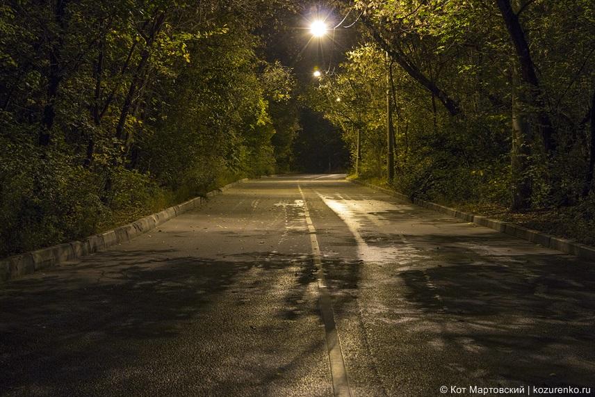 Дорога в сторону Сокольников