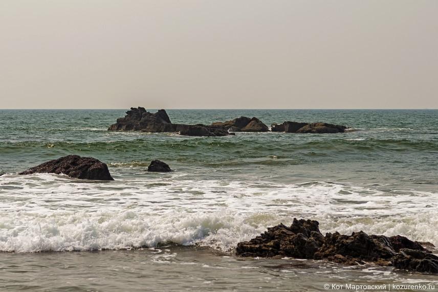 Арамболь, море
