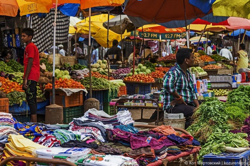 Мапуса, рынок