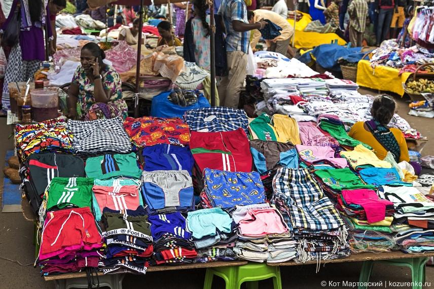 Текстиль: трусы, шорты, футболки, рубашки