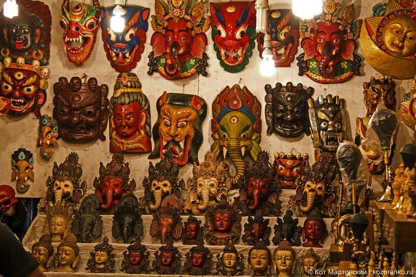 Маски богов индийского пантеона
