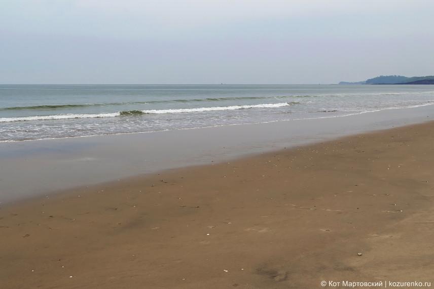 Пляж Кверим совсем безлюдный