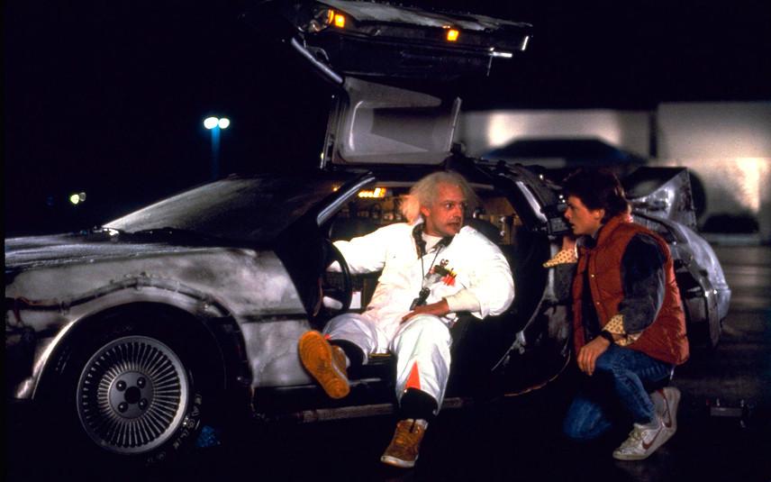 Назад в будущее. Док, Марти и машина времени DeLorean DMC-12