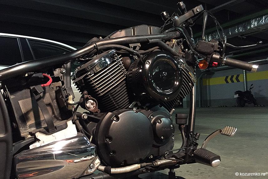 Двигатель DragStar1100