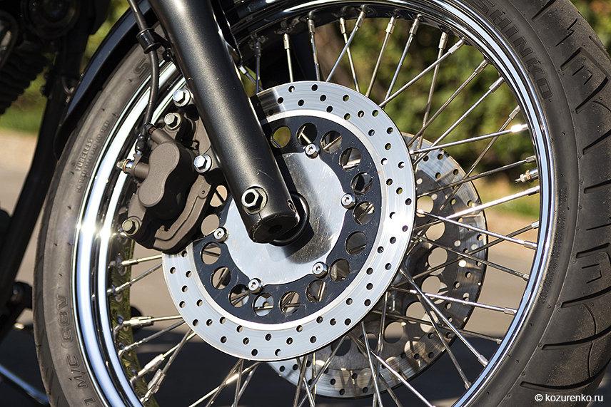 """21"""" колесо на Yamaha Drag Star XVS1100"""
