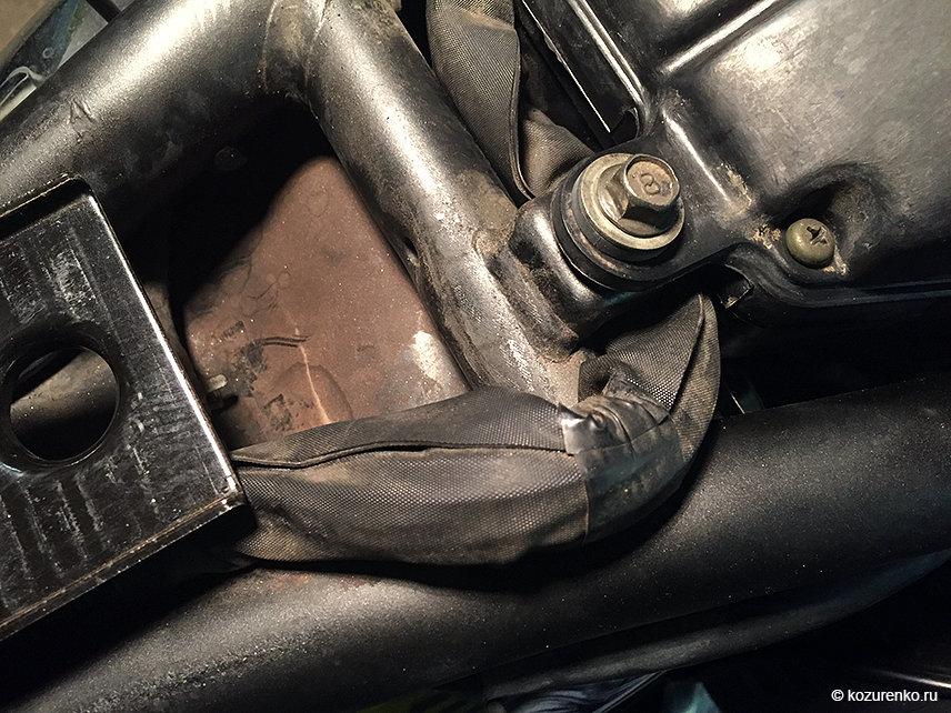 Проводка, которую чтобы переложить, нужно разобрать треть мотоцикла