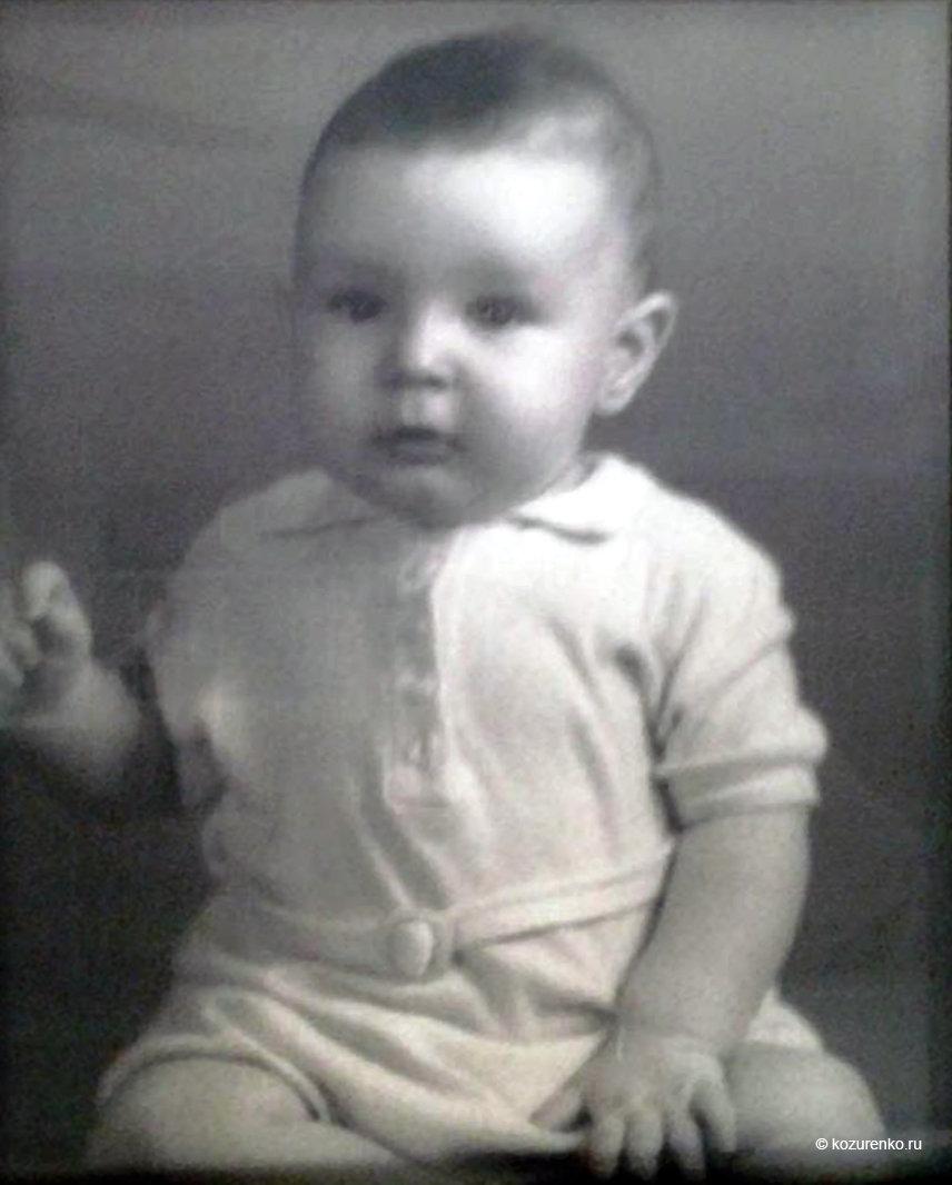 Дэвид Манн в детстве