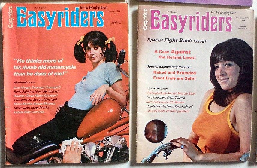 Журналы Easyriders 1972 года